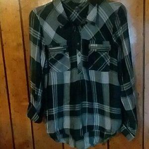 MM plaid shirt